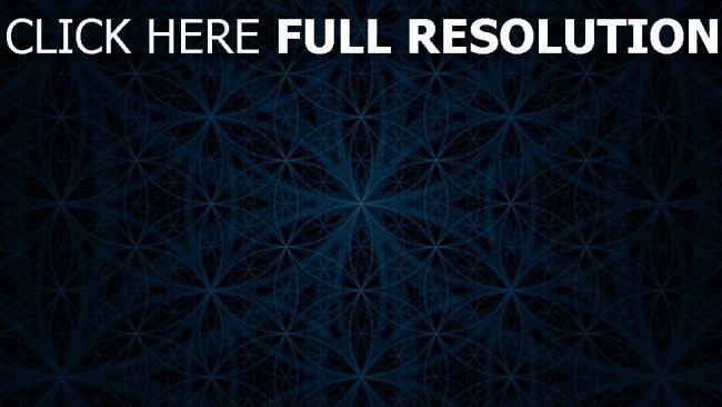 hd hintergrundbilder kreise blau muster textur dunkel
