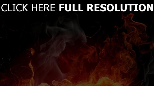 hd hintergrundbilder feuer brennen rauch hell dunkel