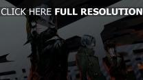 tokyo ghoul kaneki lunge haube jacke schwarz