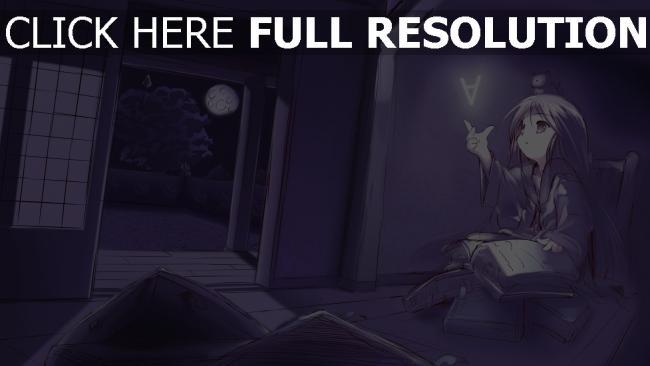 hd hintergrundbilder mädchen buch zimmer dunkel buchstabe magie