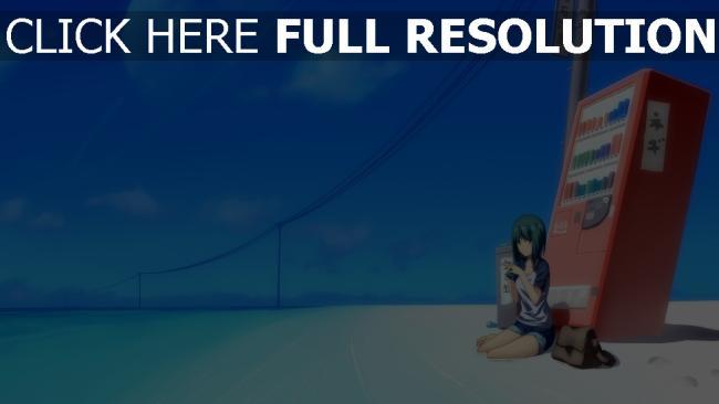 hd hintergrundbilder strand mädchen getränke automatische himmel