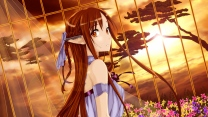 yuuki asuna elf mädchen schwert art