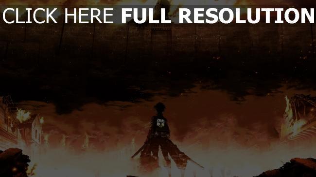 hd hintergrundbilder angriff auf titan shingeki no kyojin eren jaeger