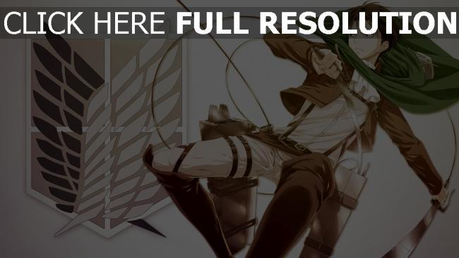 hd hintergrundbilder shingeki no kyojin art angriff auf titan