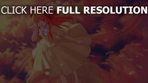 mädchen kleid wasser himmel gekkan shoujo nozaki kun sakura chiyo