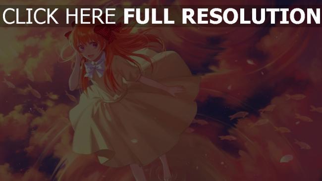 hd hintergrundbilder mädchen kleid wasser himmel gekkan shoujo nozaki kun sakura chiyo
