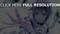 hand art funke elektrizität