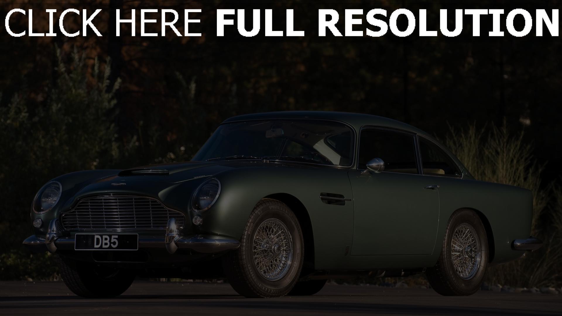Hd Hintergrundbilder Aston Martin Db5 Gt Oldtimer
