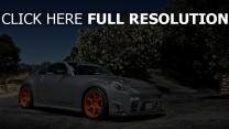 nissan 350z sportwagen tuning grau seitenansicht