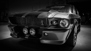 ford mustang shelby gt500 eleanor grau garage