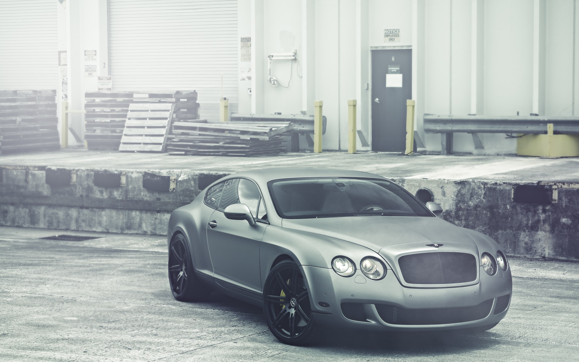 herunterladen 1920x1080 full hd hintergrundbilder bentley continental grau matt lagerung. Black Bedroom Furniture Sets. Home Design Ideas