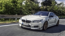 bmw m6 gran coupe prior design tuning silber