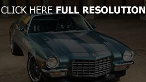 vorderseite bumper camaro 1971 chevrolet auto aussicht