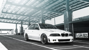 weiß sedan5 tuning bmw m5 serie e39