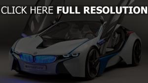 concept vorderseite efficientdynamics bmw vision