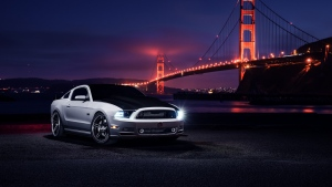 nacht autos aristo ford mustang