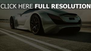 auto straße supercar art