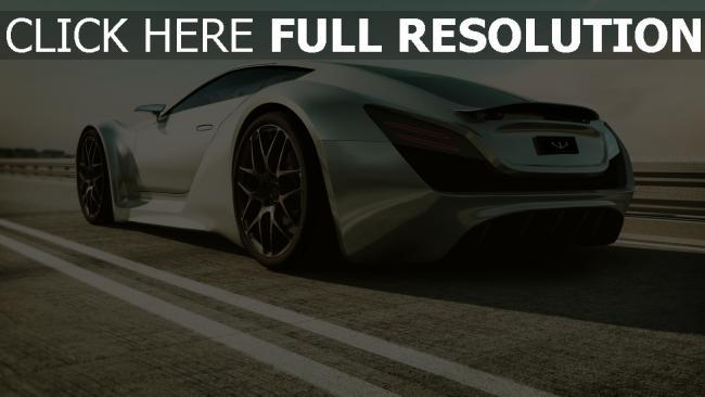 hd hintergrundbilder auto straße supercar art