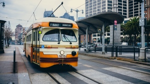 transport straßenbahn stadt