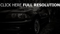 bw lichter auto