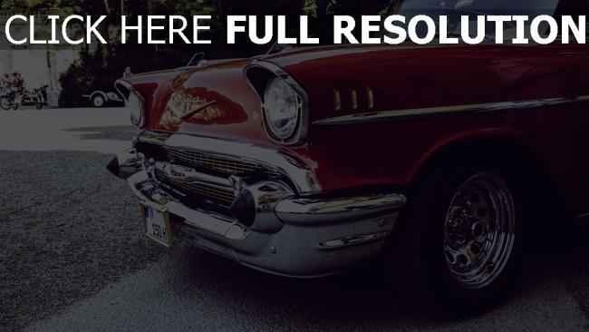 hd hintergrundbilder lichter seitenansicht auto retro