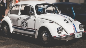 auto seitenansicht retro