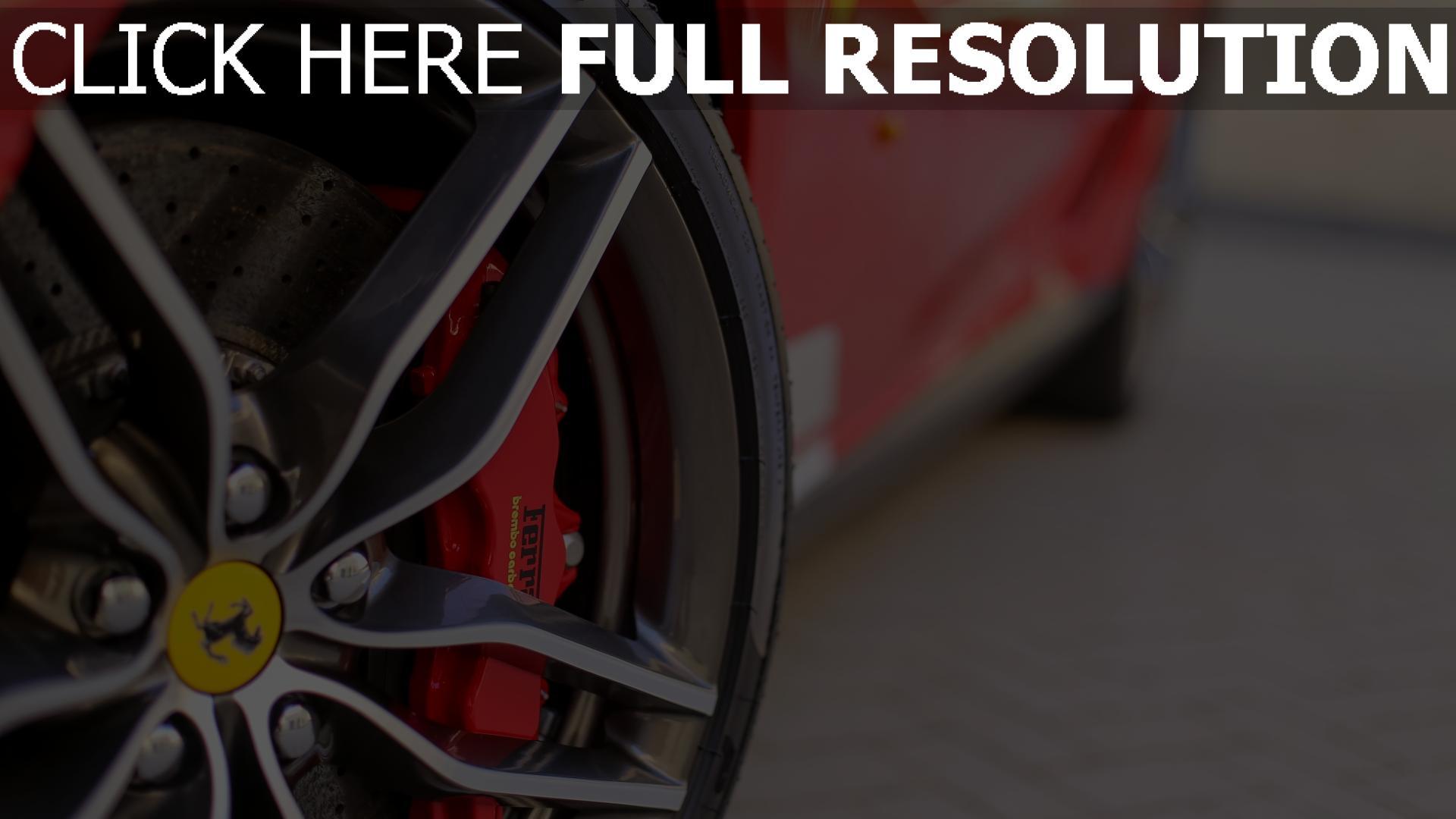 Hd Hintergrundbilder Ferrari Reifen Logo Rad Desktop