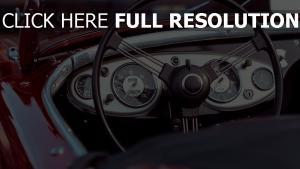 oldtimer lenkrad auto kabrio tacho