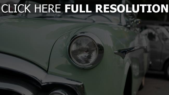 hd hintergrundbilder retro scheinwerfer auto oldtimer