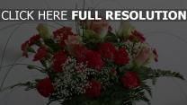 strauß rosen nelken zusammensetzung