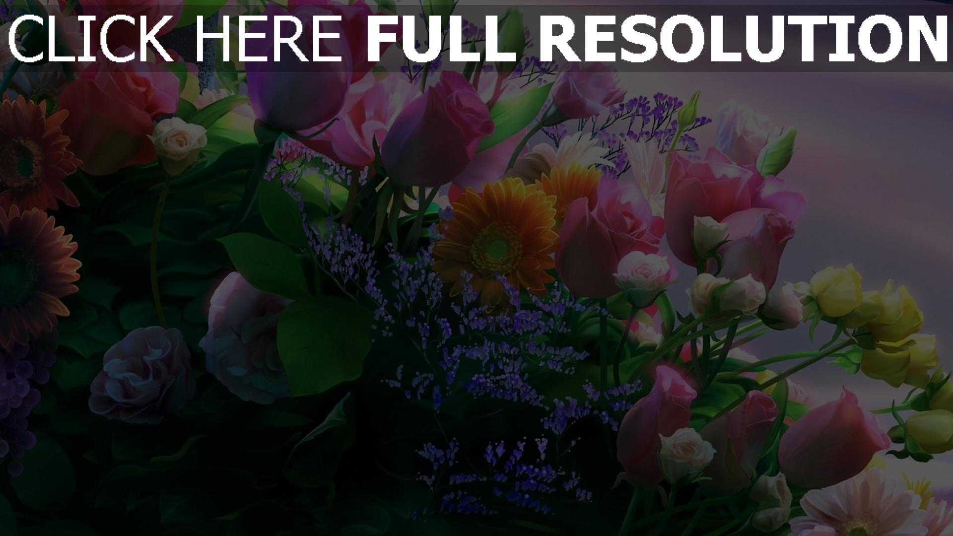 Фото с цветами букеты