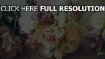 design strauß rosen zusammensetzung