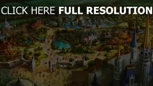 disney fantasyland oben magic kingdom