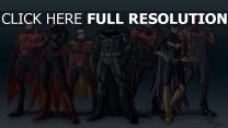 batman art charaktere kostüme comics