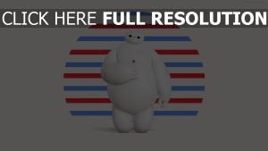 big hero 6 baymax disney roboter