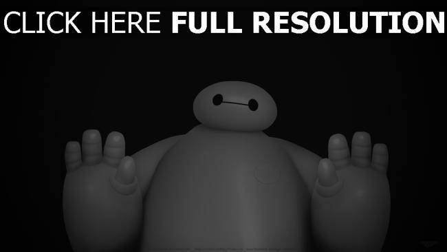 hd hintergrundbilder big hero 6 baymax roboter