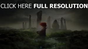 legende der highlands merida schottland mädchen