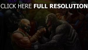 helden comics art batman spiderman wolverine hulk