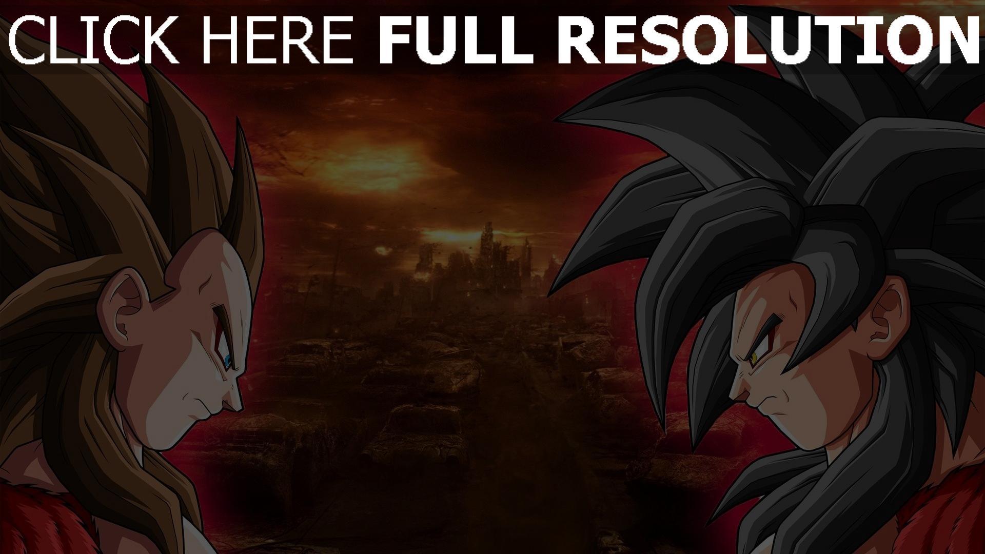 HD Hintergrundbilder dragonball z super saiyajin son goku ...