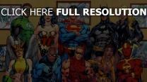 superheld superman batman comics