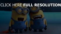 ich einfach unverbesserlich 2 minions lachen freude unfug