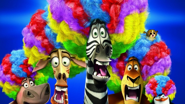hd hintergrundbilder madagascar marty alex melman gloria zirkus