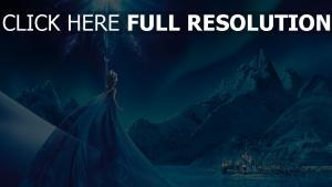 frozen elsa eiskönigin palast