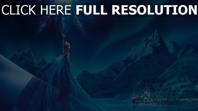 hd hintergrundbilder frozen elsa eiskönigin palast
