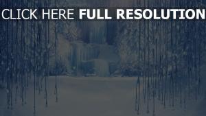 frozen eis schnee winter wasserfall