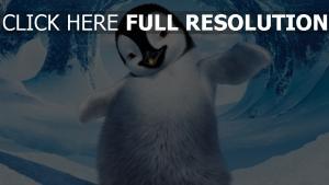 happy feet 2 pinguin erik schnee