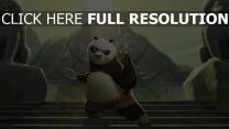 kung fu panda krieger kampf