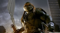 teenage mutant ninja turtles michelangelo stadt wolkenkratzer