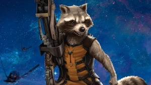 guardians of the galaxy rocket waschbär waffe