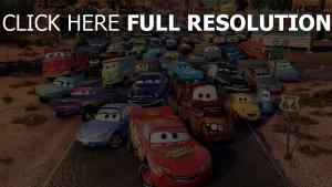 cars lightning mcqueen charaktere